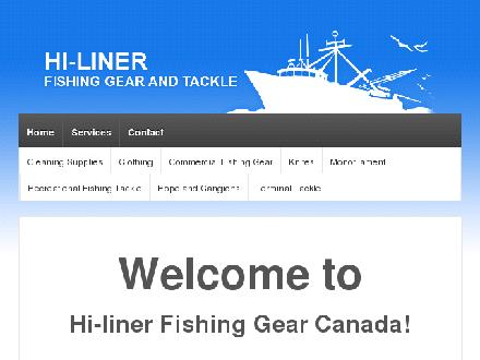 Hi-Liner Fishing Gear And Tackle Ltd (902-457-4968) - Website thumbnail - http://www.hiliner.ca