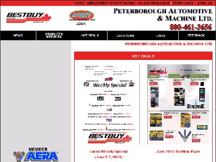 Walkwood Supply (705-324-2156) - Website thumbnail - http://www.ptboauto.ca