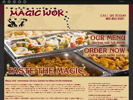 Magic Wok (902-201-0836) - Website thumbnail - http://magicwokbuffet.ca/