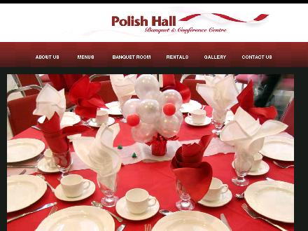 Polish Hall (780-426-1856) - Onglet de site Web - http://www.polishhall.ca