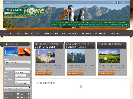 Agence de voyage Hone (514-878-1000) - Onglet de site Web - http://www.voyagehone.com