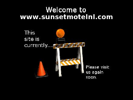 Sunset Motel (709-834-6221) - Website thumbnail - http://www.sunsetmotelnl.com