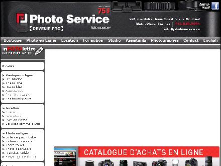 Photo Service (514-800-9495) - Website thumbnail - http://www.photoservice.ca