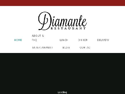 Diamante Restaurant (867-920-2971) - Website thumbnail - http://www.diamanterestaurant.com
