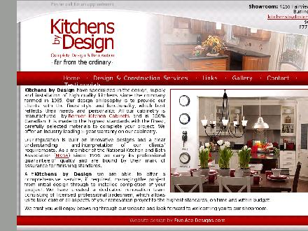 Kitchens By Design (905-333-1355) - Onglet de site Web - http://www.farfromtheordinary.com