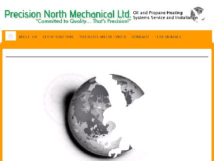 Precision North Mechanical Ltd (867-335-4082) - Onglet de site Web - http://precisionnorth.com
