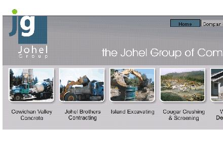 Johel Bros Contracting Ltd (250-749-3977) - Website thumbnail - http://www.johelgroup.com