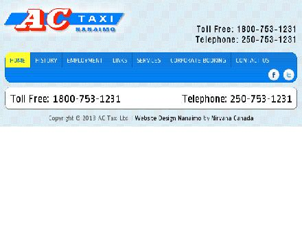 A C Taxi (250-753-1231) - Website thumbnail - http://www.actaxi.ca
