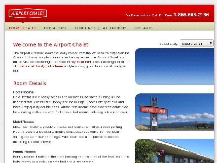 Airport Chalet (867-668-2166) - Onglet de site Web - http://www.airportchalet.com