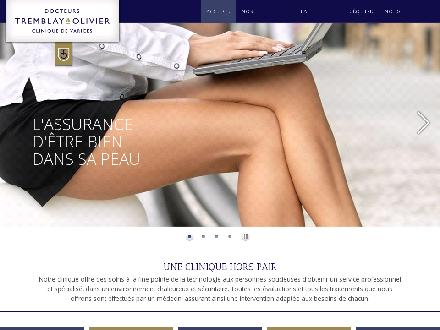 Clinique De Varices du Fontainebleau (450-434-7706) - Onglet de site Web - http://www.cliniquedevarices.com