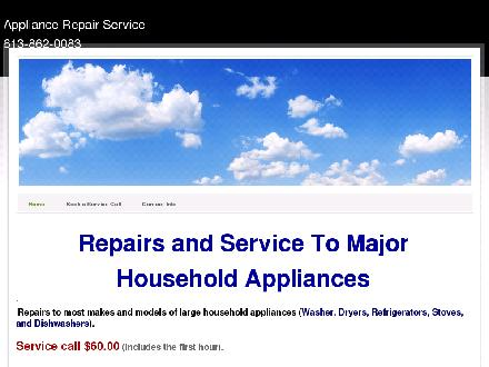 Appliance Repair Service (613-862-0083) - Onglet de site Web - http://www.appliance-repair-service.ca