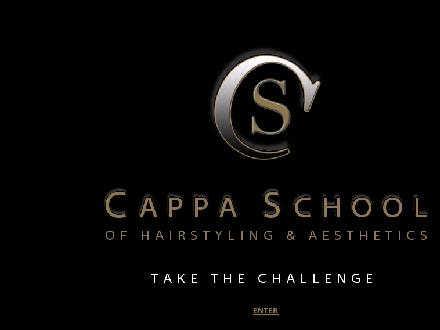 Cappa Professional School of Hairstyling & Aesthetics (905-688-1175) - Website thumbnail - http://www.cappahairstyling.com