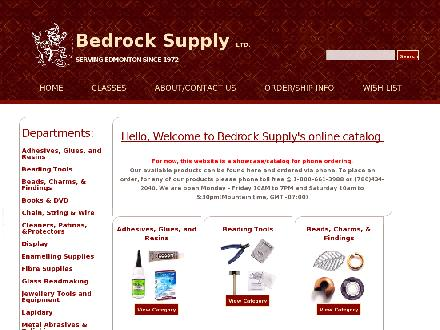Bedrock Supply Ltd (780-434-2040) - Onglet de site Web - http://www.bedrocksupply.ca