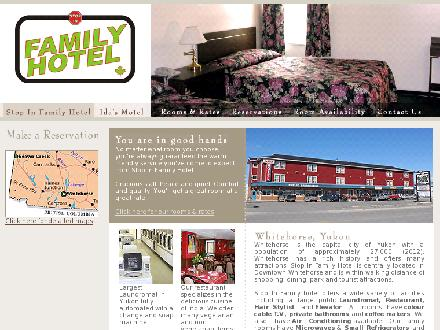 Stop In Family Hotel (867-668-5558) - Onglet de site Web - http://www.stopinfamilyhotel.ca