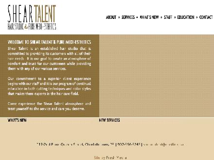 Shear Talent (902-566-5245) - Website thumbnail - http://www.sheartalent.ca