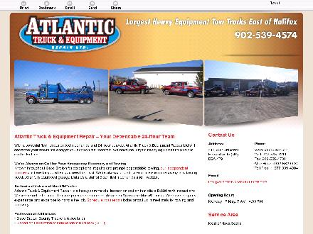 Atlantic Truck & Equipment Repair Ltd (902-539-4574) - Website thumbnail - http://atlantictruckandequipment.ca