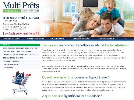 Multi-Pr&ecirc;ts Partenaires Inc (418-659-7738) - Onglet de site Web - http://www.multipretspartenaires.com