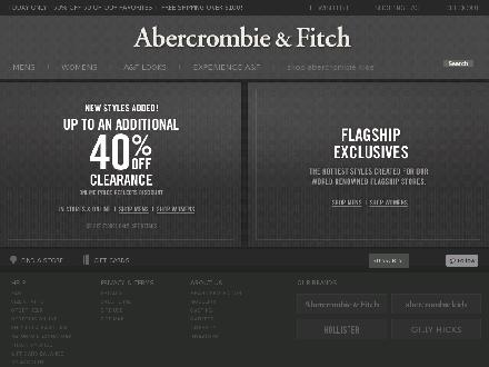 Abercrombie.ca - Website thumbnail - http://www.abercrombie.ca