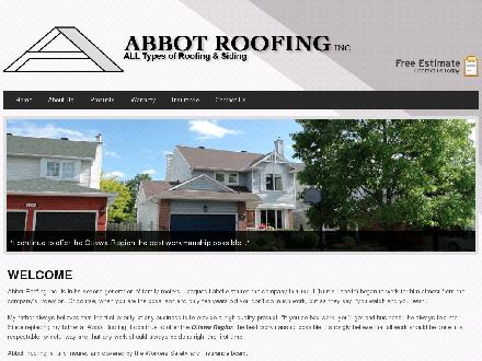 Abbot Roofing Inc (613-604-0793) - Onglet de site Web - http://www.abbotroofinginc.com