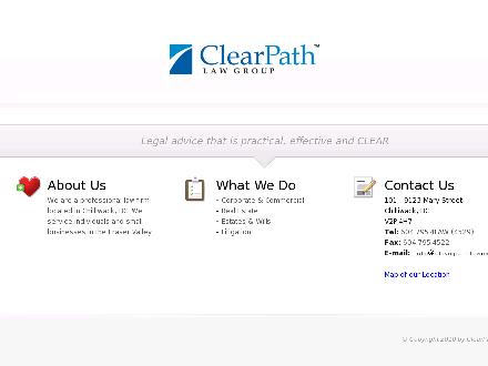 ClearPath Law Group (604-701-0801) - Website thumbnail - http://www.clearpathlaw.com
