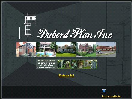 Dubord Plan Inc (450-348-4364) - Onglet de site Web - http://www.dubordplan.qc.ca