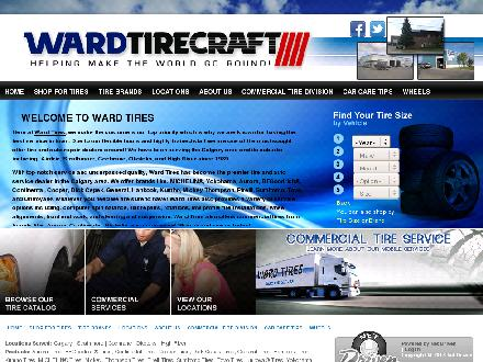 Ward Tire (403-650-7809) - Onglet de site Web - http://www.wardtires.com