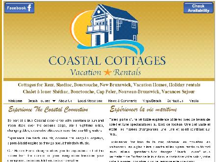 Coastal Cottage Rentals &amp; Sales (1-866-307-7070) - Onglet de site Web - http://www.waterfrontcanada.ca