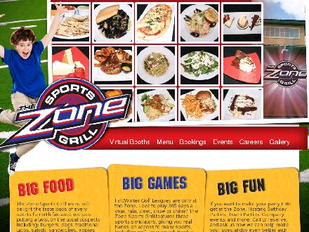 Zone Sports Grill The (780-532-5667) - Onglet de site Web - http://www.zonesportsgrill.com