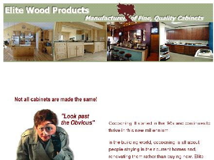 Elite Wood Products Ltd (403-320-1755) - Onglet de site Web - http://www.elitewoodproducts.com