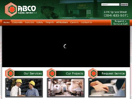 ABCO Supply &amp; Service Ltd (204-633-8071) - Onglet de site Web - http://www.abcosupply.com