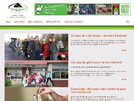 Nature-Action Québec Inc (450-536-0422) - Website thumbnail - http://www.nature-action.qc.ca