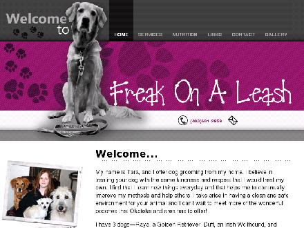 Freak On A Leash Animal Services (403-681-2959) - Onglet de site Web - http://www.freakonaleash.ca
