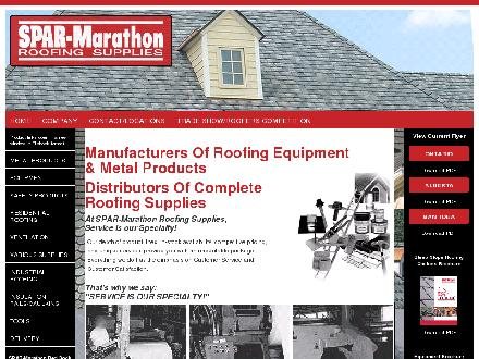 Spar-Marathon Roofing Supplies (204-338-7613) - Onglet de site Web - http://www.sparmarathon.ca