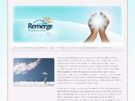 Remerge Rehabilitation Inc (403-979-2318) - Website thumbnail - http://www.remerge.ca