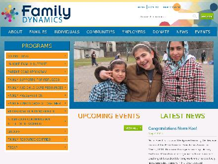 Family Dynamics Inc (204-947-1401) - Onglet de site Web - http://www.familycentre.mb.ca