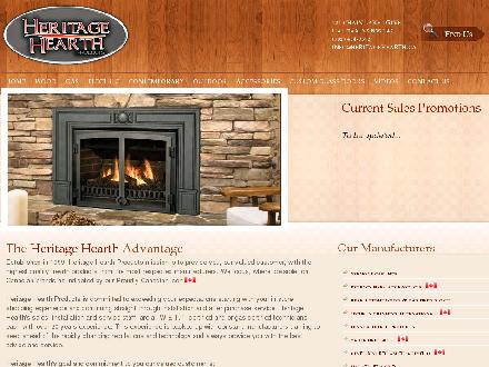 Heritage Hearth Products Ltd (902-442-6865) - Website thumbnail - http://www.heritagehearth.ca/