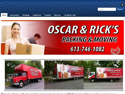 Oscar & Rick Local Moving (613-746-1082) - Website thumbnail - http://www.oscarandricksmoving.com