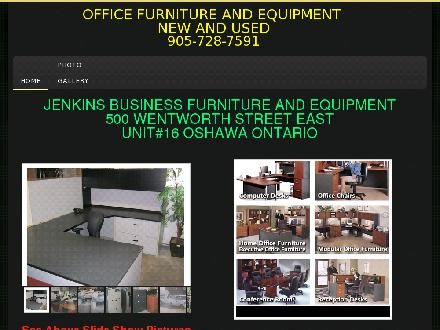 Jenkins Business Equipment (905-728-7591) - Onglet de site Web - http://www.jenkinsequip.com