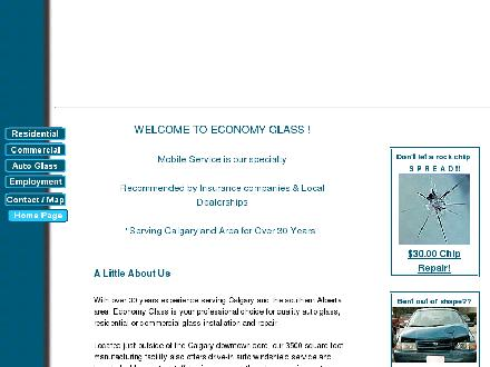 Economy Glass Ltd (403-727-0121) - Onglet de site Web - http://www.economy-glass.com