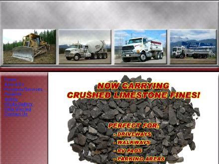West Ridge Concrete Pumping (780-740-0165) - Website thumbnail - http://www.westridgesandandgravel.com