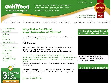 OakWood Renovation Experts (613-236-8001) - Onglet de site Web - http://www.Oakwood.ca
