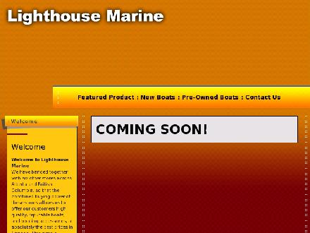 Lighthouse Boat Sales Inc (403-309-3111) - Onglet de site Web - http://www.lighthousemarine.ca