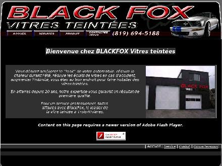 Vitres Teint&eacute;es Black Fox (819-694-5188) - Website thumbnail - http://www.blackfoxvitresteintees.com