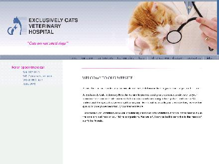 Exclusively Cats Veterinary Hospital (204-287-8810) - Onglet de site Web - http://www.exclusivelycats.net