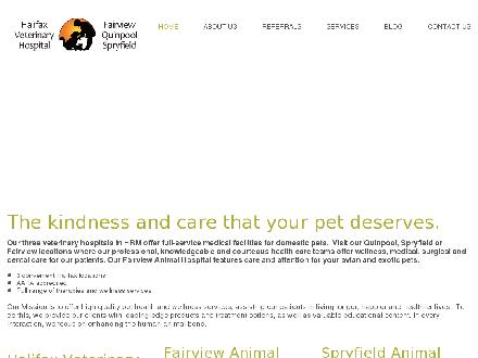 Halifax Veterinary Hospital (902-422-8595) - Website thumbnail - http://www.HalifaxVeterinaryHospitalinc.com