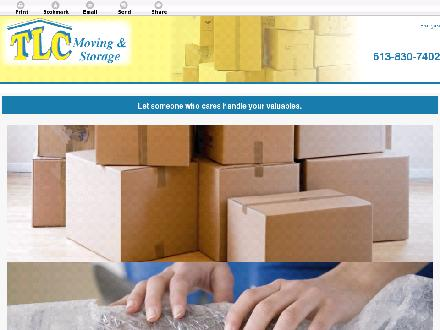 TLC Moving & Freight (613-830-7402) - Website thumbnail - http://tlcmovingottawa.ca/