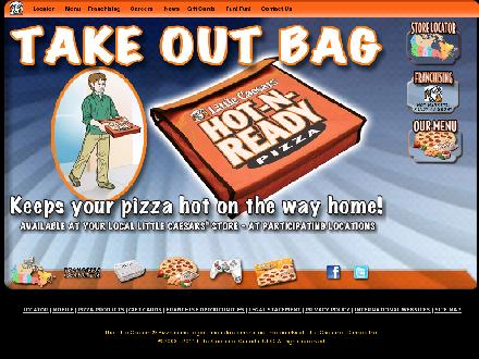 Little Caesars Pizza (604-504-4600) - Onglet de site Web - http://www.littlecaesars.ca