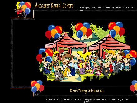 Ancaster Rental Centre (905-304-7368) - Website thumbnail - http://www.ancasterrentalcentre.ca