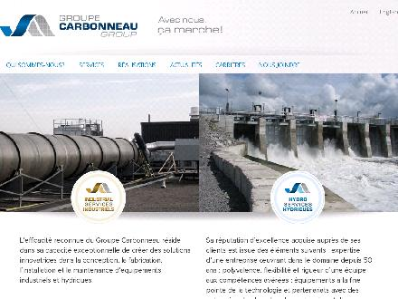 Groupe Carbonneau (450-534-2792) - Website thumbnail - http://www.groupecarbonneau.com
