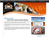 Lebel Isolation Inc (418-818-1748) - Website thumbnail - http://www.lebelisolation.com